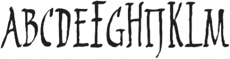 2009 Primitive otf (200) Font LOWERCASE