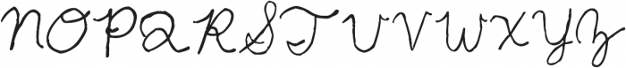 2040 ttf (400) Font UPPERCASE