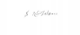 2 Rachela Script italic.ttf Font OTHER CHARS