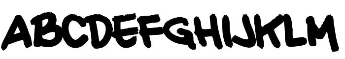 20 CENTS MARKER Bold Font UPPERCASE
