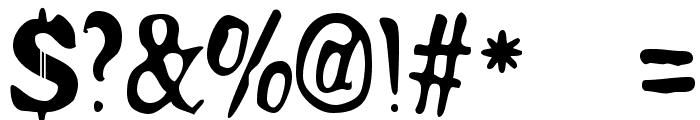 200proofmoonshine remix Font OTHER CHARS