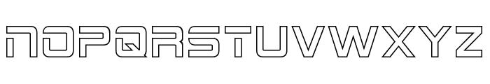 2015 Cruiser Hollow Font UPPERCASE