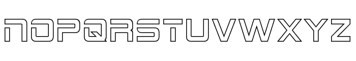 2015 Cruiser Hollow Font LOWERCASE
