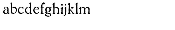 2009 GLC Plantin Normal Font LOWERCASE