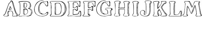 2009 Handymade Normal Font UPPERCASE