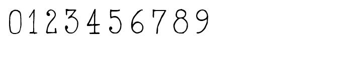 2011 Slimtype Regular Font OTHER CHARS