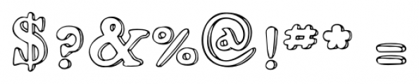 2009 Handymade Normal Font OTHER CHARS