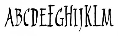 2009 Primitive Normal Font LOWERCASE