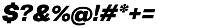 20 Kopeek Black Italic Font OTHER CHARS