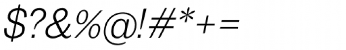 20 Kopeek Light Italic Font OTHER CHARS