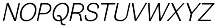 20 Kopeek Light Italic Font UPPERCASE