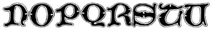 2008 Xmas Fantasy Bold Font UPPERCASE