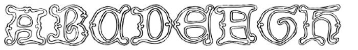 2008 Xmas Fantasy Bold Font LOWERCASE