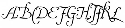 2009 Lollipop Normal Font UPPERCASE