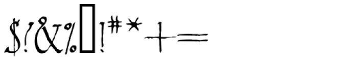 2009 Primitive Font OTHER CHARS