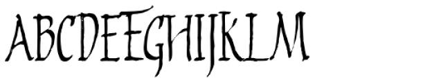 2009 Primitive Font UPPERCASE