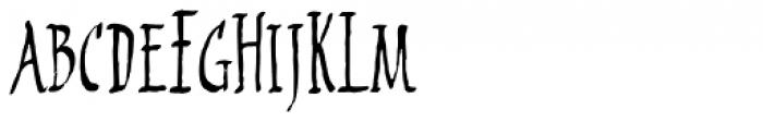 2009 Primitive Font LOWERCASE