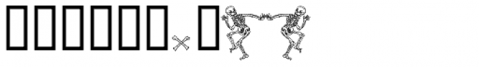 2010 Dance Of Death Font OTHER CHARS