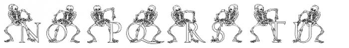 2010 Dance Of Death Font UPPERCASE