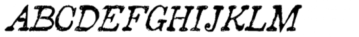 2010 Pipo Pro Italic Font UPPERCASE