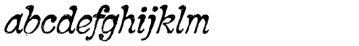 2010 Pipo Pro Italic Font LOWERCASE