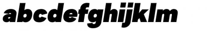 2030 Extra Black Italic Font LOWERCASE
