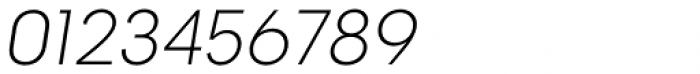 2030 Extra Light Italic Font OTHER CHARS