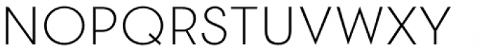 2030 Extra Light Font UPPERCASE