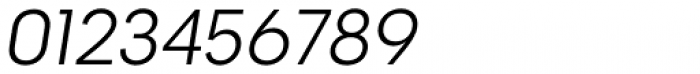 2030 Light Italic Font OTHER CHARS