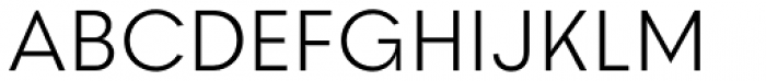 2030 Light Font UPPERCASE