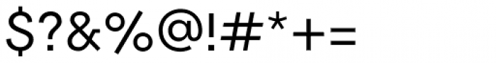 2030 Regular Font OTHER CHARS