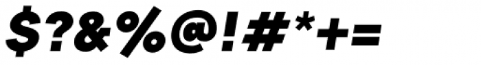 2030 Ultra Black Italic Font OTHER CHARS