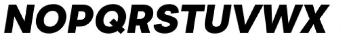 2030 Ultra Black Italic Font UPPERCASE