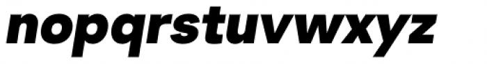 2030 Ultra Black Italic Font LOWERCASE
