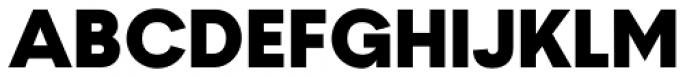 2030 Ultra Black Font UPPERCASE