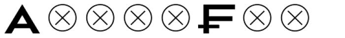 2041 5 Font UPPERCASE