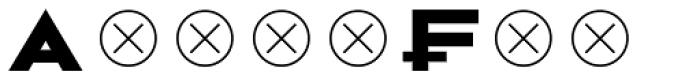 2041 6 Font UPPERCASE