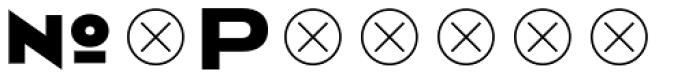 2041 6 Font LOWERCASE