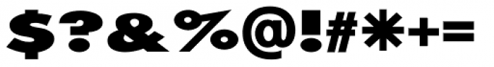 20th Century ExtraB Extended Font OTHER CHARS
