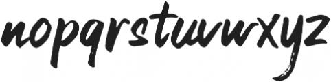 21st Street otf (400) Font LOWERCASE