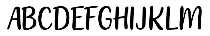 212 Moon Child Sans Font UPPERCASE
