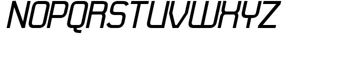 21st Bold Italic Font UPPERCASE