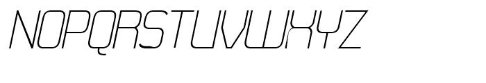 21st Fine Italic Font UPPERCASE