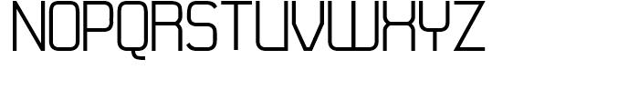 21st Regular Font UPPERCASE