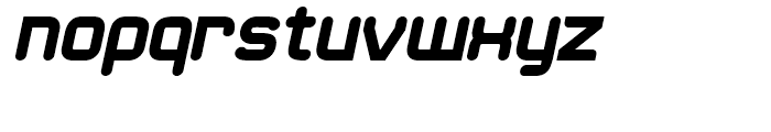 21st Round Black Italic Font LOWERCASE
