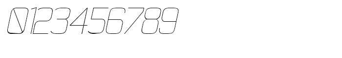 21st Super Fine Italic Font OTHER CHARS