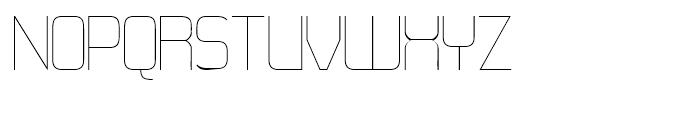 21st Super Fine Font UPPERCASE