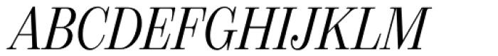 21 Cent Condensed Italic Font UPPERCASE