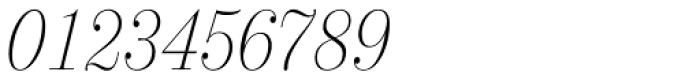 21 Cent Condensed UltraLight Italic Font OTHER CHARS