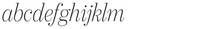 21 Cent Condensed UltraLight Italic Font LOWERCASE